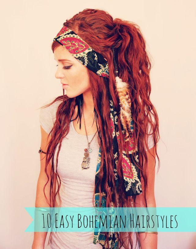 Peinados para Novias Boho con Paso a Paso y Accesorios - Bohemian Hairstyles