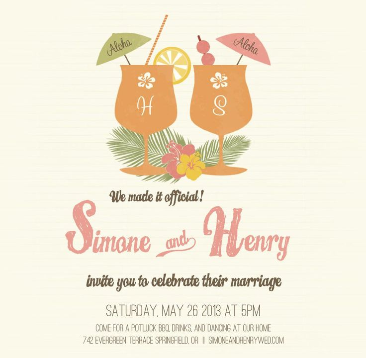 8 best wedding party invites images on Pinterest | Weddings ...