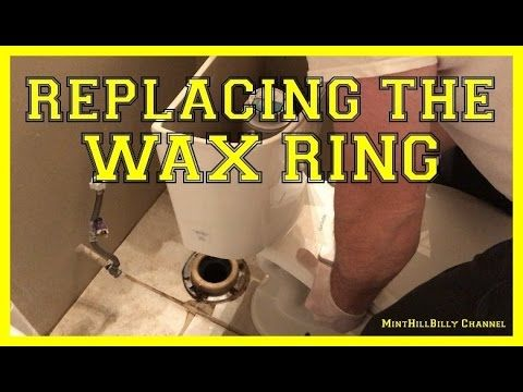 How To Replace The Wax Ring On Your Toilet Repair Leaking Toilet Youtube Toilet Repair Wax Ring Leaking Toilet