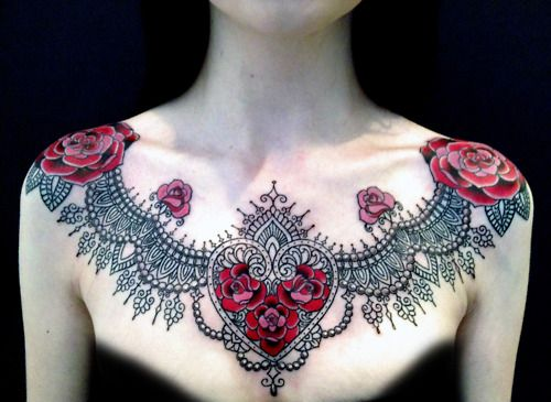 This is one of the most beautiful chest pieces i've seen.