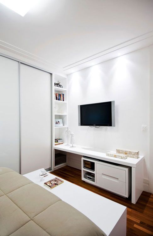Ambientes inspiradores com armários planejados | Revista Casa Linda: