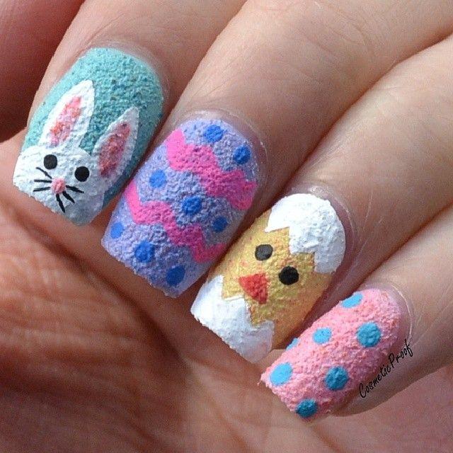 Kbshimmer Spring 2014 Chevron Dot Nail Art Easter Design: 17 Best Images About Nail Design: Easter On Pinterest