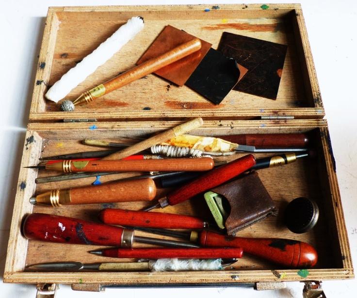 Louise Scott - In Her Element: Tool Box & Trade Shows...    http://louisescottart.blogspot.co.uk/2013/04/tool-box-trade-shows.html