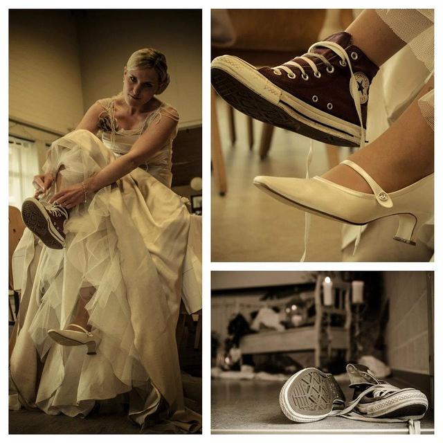 Cool idea / Chucks Wedding by Daniel Wehner, via Flickr