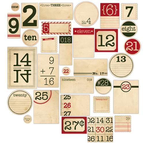 love these printable tagsMatching Vintage, Numbers Vintage, December Daily, Elle Studios, Numbers Tags, Vintage Labels, Vintage Wardrobe, White Barn, Vintage Numbers