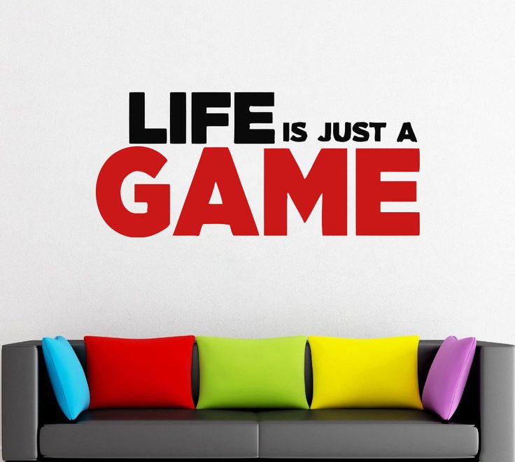 Gamer Wall Decal Gamer Decals Controller Decals Personalized Gamer Room z89