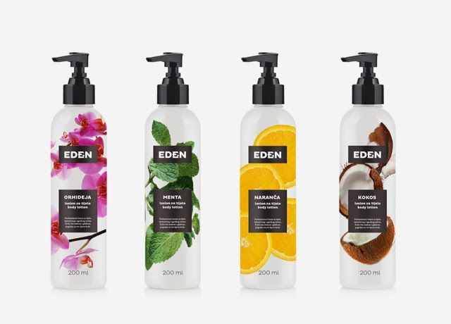Eden - a new cosmetic line from Bosnia and Herzegovina. First products are these amazing body lotions, based on natural recipes, but modernly storned as fluids.