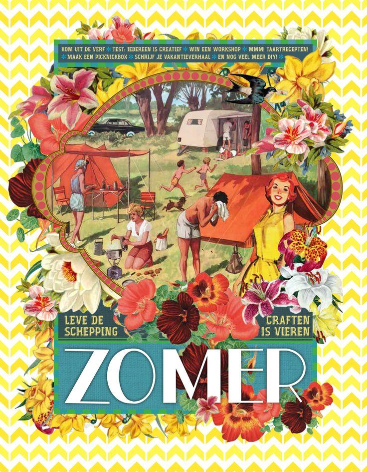 Sestra ZOMER is nu naar de drukker, nog een paar weekjes geduld en dan is dit superleuke, megadikke zomermagazine te koop!