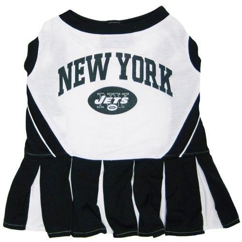 First New York Jets Cheerleader Dog Dress