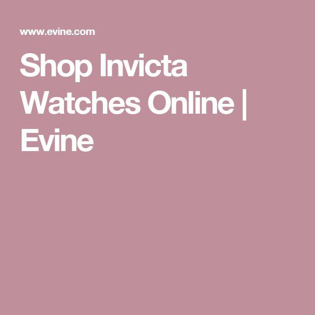 Shop Invicta Watches Online   Evine