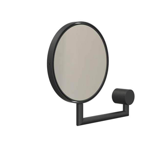 Magnifying Mirror 1 Black Wall Mounted Magnifying Mirror Magnifying Mirror Mirror