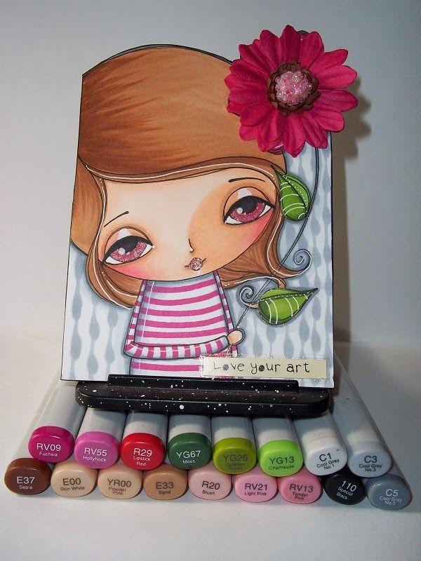 Make Art & Live Happy: Whimsy Girls #2 Workshop