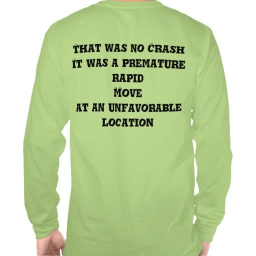 That was no crash Machinist Tee Shirt http://www.zazzle.com/machinist_long_sleeve_tee-235893312385321534