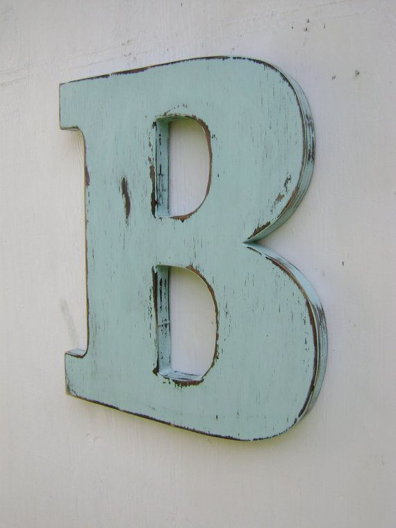 rustic wood wedding decor letter b distressed by unclejohnscabin