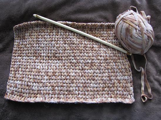 Kuddfodral i krokning/tunisisk virkning - 09. Virkning - Textilhantverk iFokus