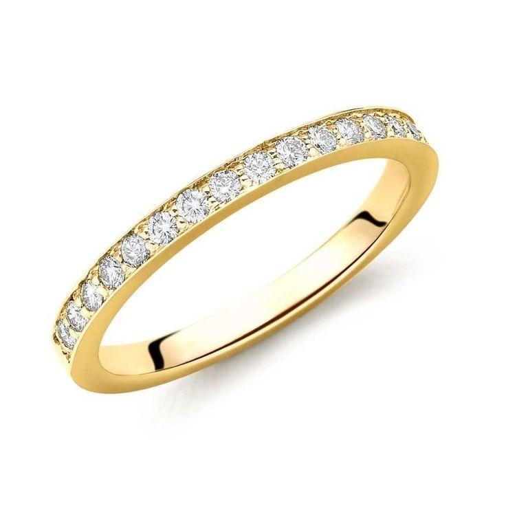 The 25 best Rose gold eternity ring ideas on Pinterest