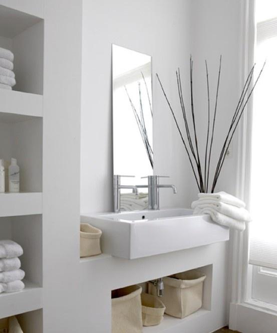 17 meilleures id es propos de tag res encastr es sur for Jolie salle de bain italienne