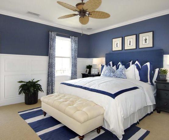 Die besten 25+ blau weiß Schlafzimmer Ideen auf Pinterest blaue - schlafzimmer mit badezimmer