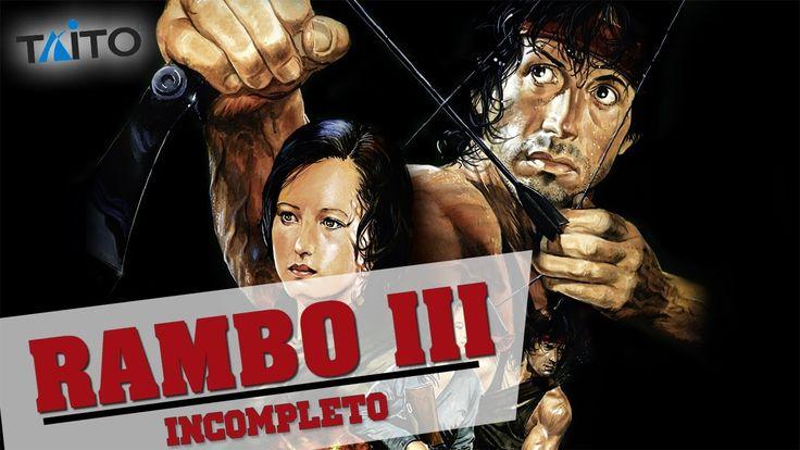 Rambo III |TAITO Arcade|Walkthrough Longplay HD