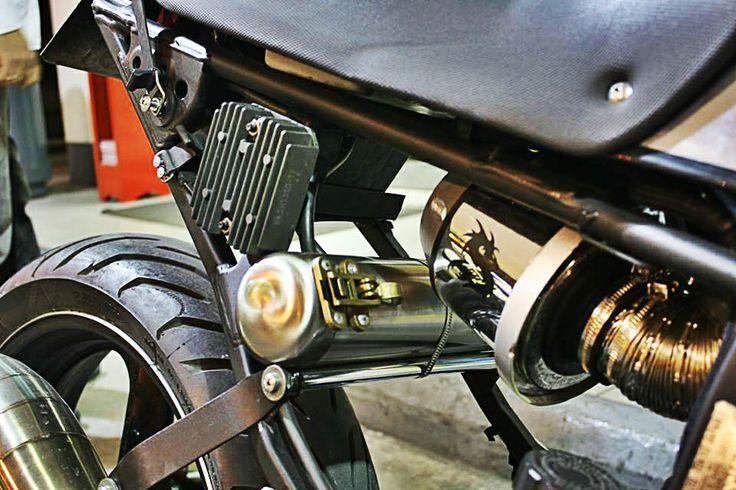 #motorcycle #detail #customizing #honda #transalp #project  https://www.facebook.com/j.sourmelidis
