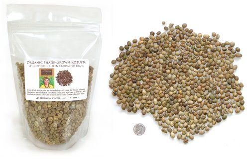 Philippine Robusta Green, Unroasted, Organic Coffee Beans, 1 pound - http://goodvibeorganics.com/philippine-robusta-green-unroasted-organic-coffee-beans-1-pound/