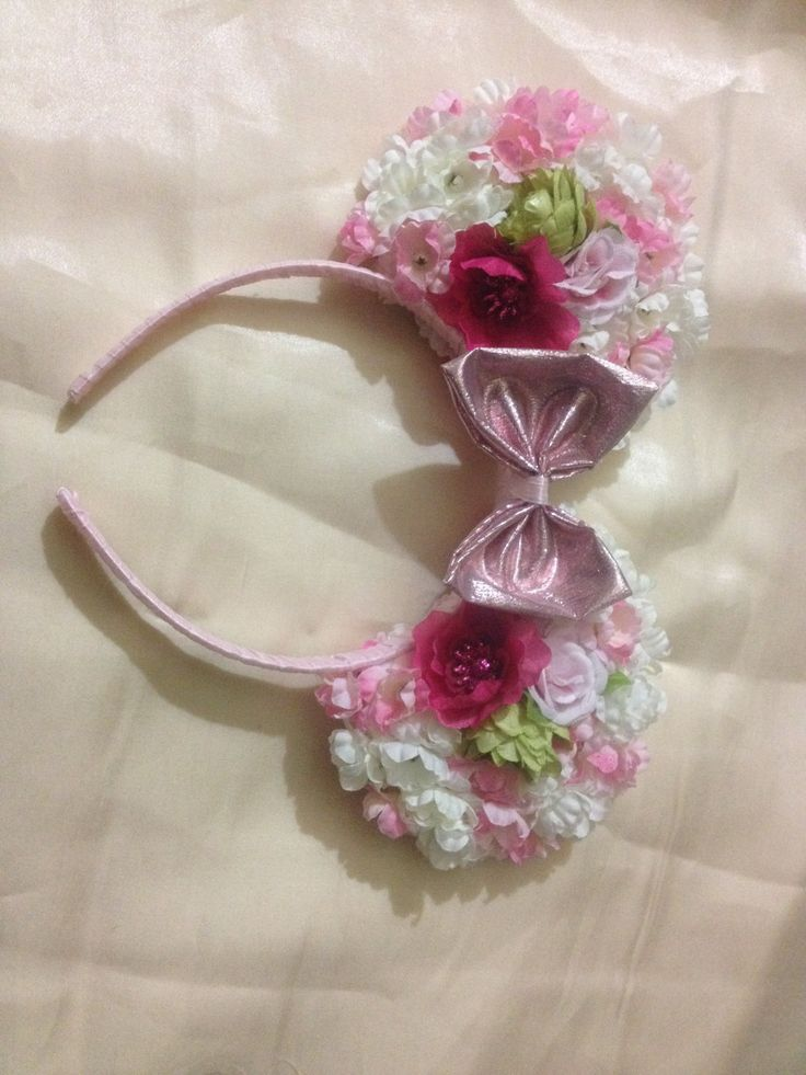 111 best images about floral mickey ears on pinterest