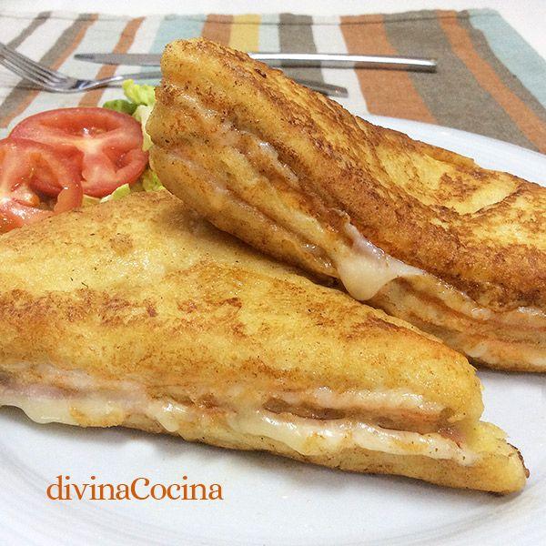 El sándwich Montecristo es unos de los grandes clásicos de la cocina americana. Aquí tienes la receta y vídeo-receta para que veas que fácil es prepararlo.