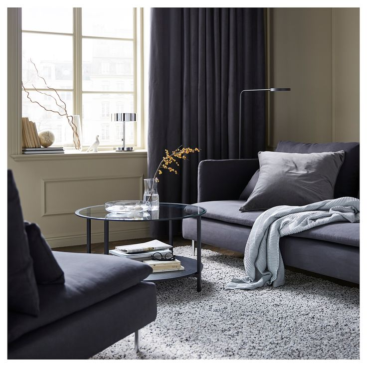 Die besten 25+ Gardinen ikea Ideen auf Pinterest Schlichte - gardinen modern wohnzimmer grau