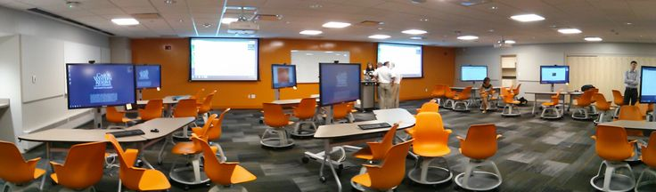 Classroom Design Theory ~ If you looked into a college classroom years ago