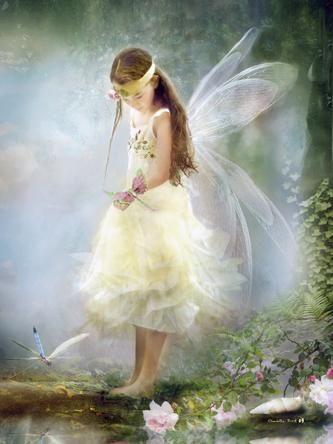 Charlotte Bird The summer faerie Print