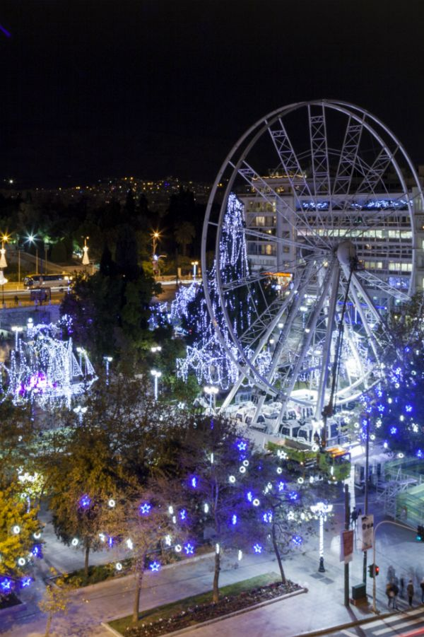 Christmas In Athens Greece Christmas In Greece Greece Pictures Athens Greece