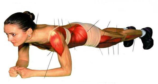 DOCUMENT SUR LA PLANCHE : Un seul exercice sans bouger resserre tous les muscles et vous aide à perdre les kilos superflus!