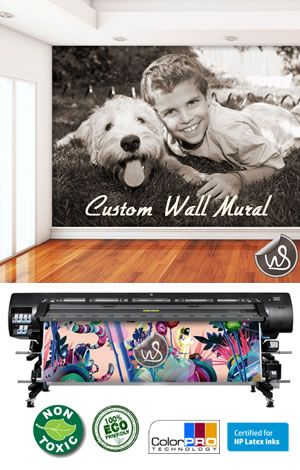 Stunning Custom Designed Eco Friendly High Quality Removable Wall Mural