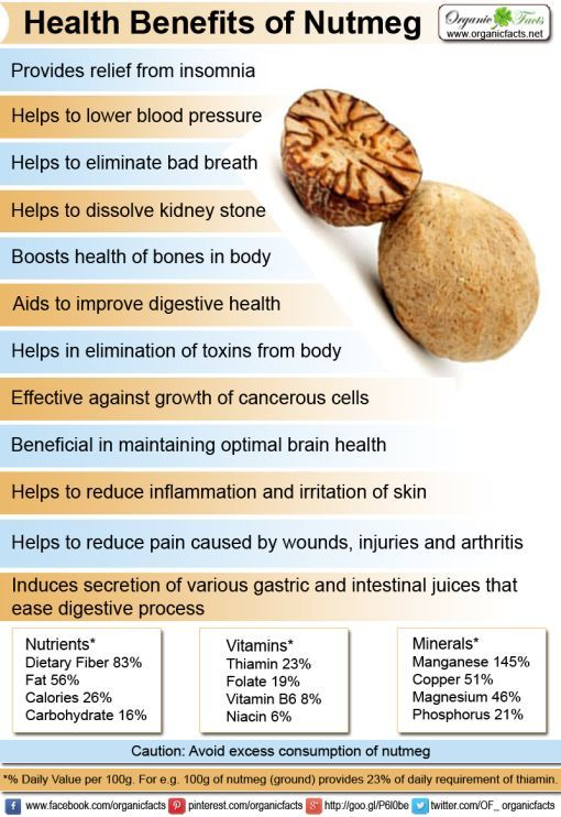Health benefits of nutmeg include its ability to relieve pain, soothe indigestion, strengthen cognitive function, detoxify the body, boost skin health.