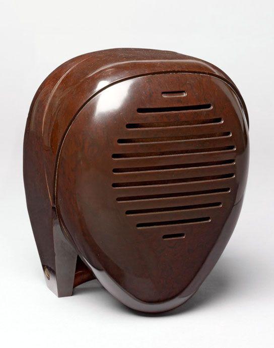 The Zenith Radio Nurse designed by  Isamu Noguchi (1930s)