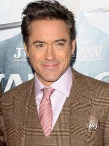 Robert Downey Jr.; We're related.