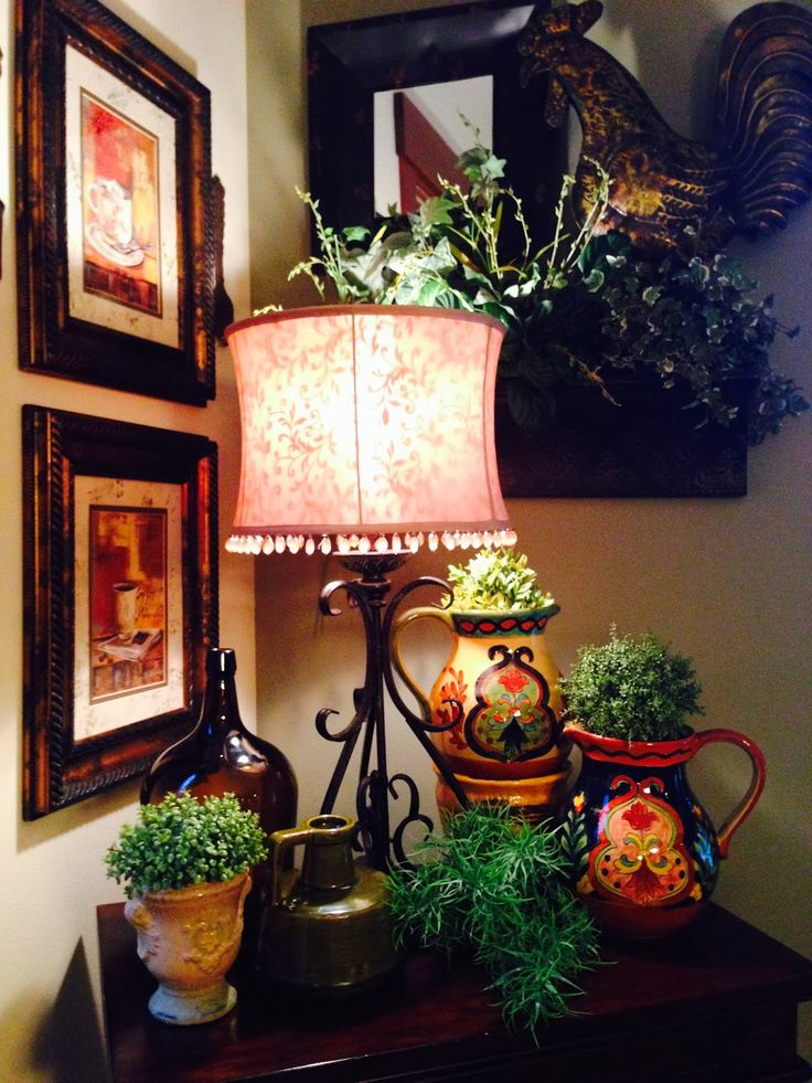 The Tuscan Home: Tuscan Style Vignettes