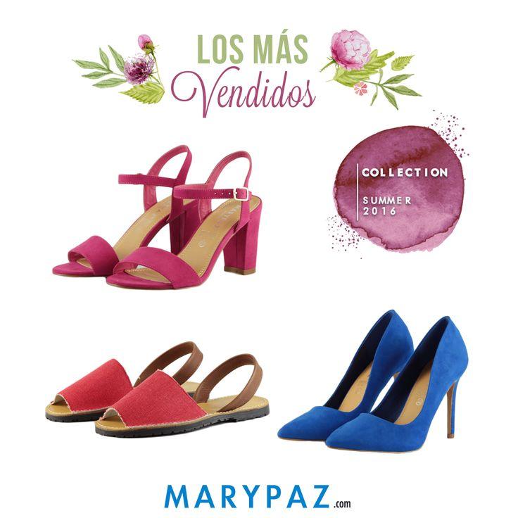 ¿ Qué os parecen los más vendidos de la temporada ?  ¡ Variedad de estilos !  ¿ Has sido tú una de las compradoras ?  #bestoftheweek #losmasvendidos   Compra tu favorito en nuestra Online► www.marypaz.com
