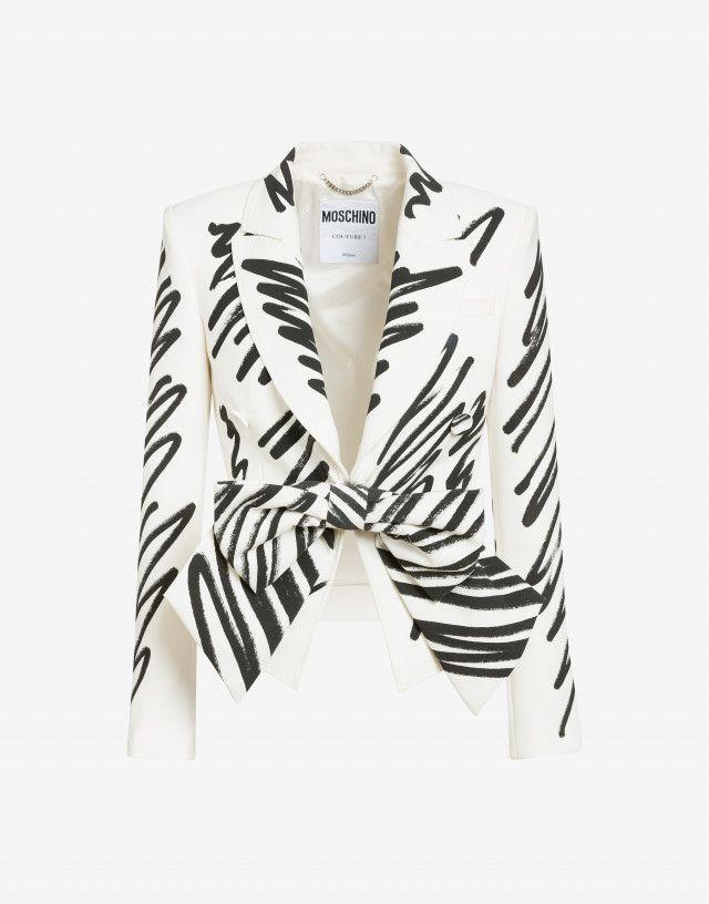 Women: Moschino coats and jackets