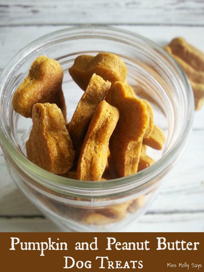 Pumpkin And Peanut Butter Dog Treats Recipe Dog Biscuit Recipes Dog Food Recipes Peanut Butter Dog Treats