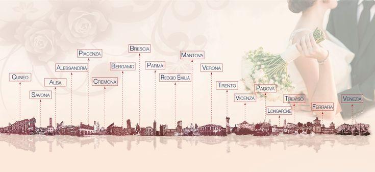 Elenc fiere sposi Nord Italia 2017-2018
