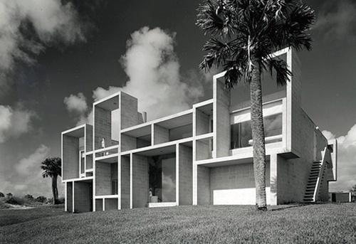 Réalisation : Maison Milam  Lieu : Jacksonville, en Floride, Etats Unis  Architecte : Paul Rudolph  Année de projet : 1959-1961