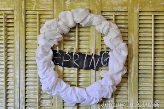 Spring WreathWire Wreaths, Easy Fabrics, Wreaths Tutorials, New Spr Wreaths, Dresses, Weights Fabrics, Spring Wreaths, Fabrics Wreaths, Blog