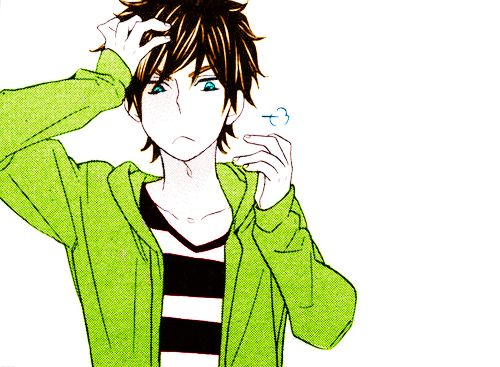 Ita: Se la prendi, mettere i crediti.. grazie.  Eng: If you take it, put the credits.. thanks.  #animeboy #Coloredbyme #ToukoWhiteGraphic