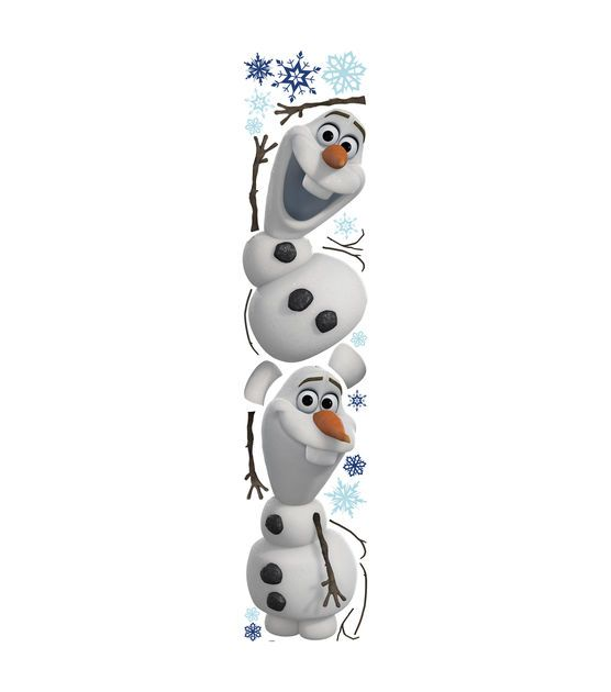 Frozen Olaf Peel & Stick Wall Decals | Frozen Wall Decals for Kids Rooms