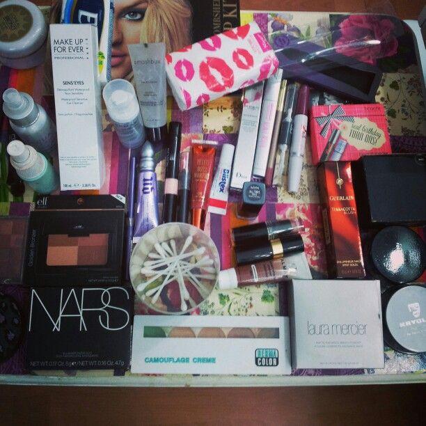 Todo el Makeup que me traje de Miami!