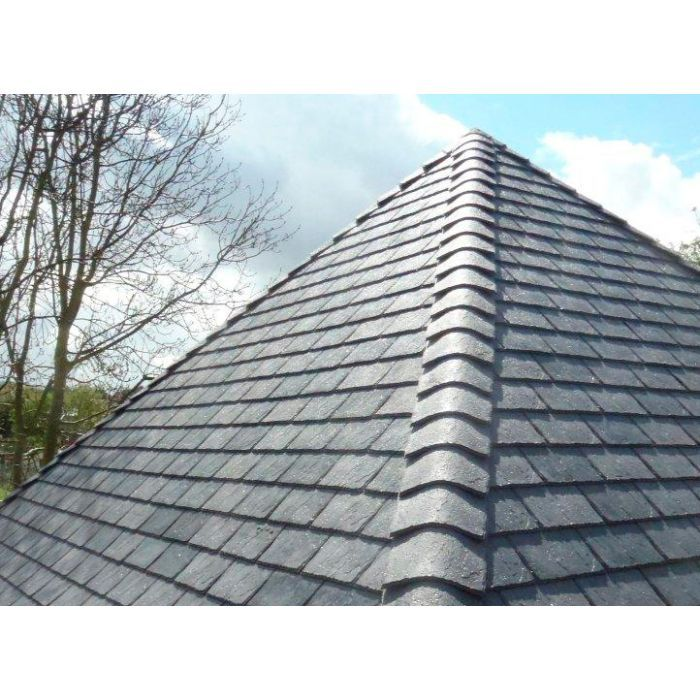 Eco Systems Eco Slate 300mm X 420mm Plastic Slate Grey Box Of 34 In 2020 Roofing Slate Roof Tiles Slate Roof