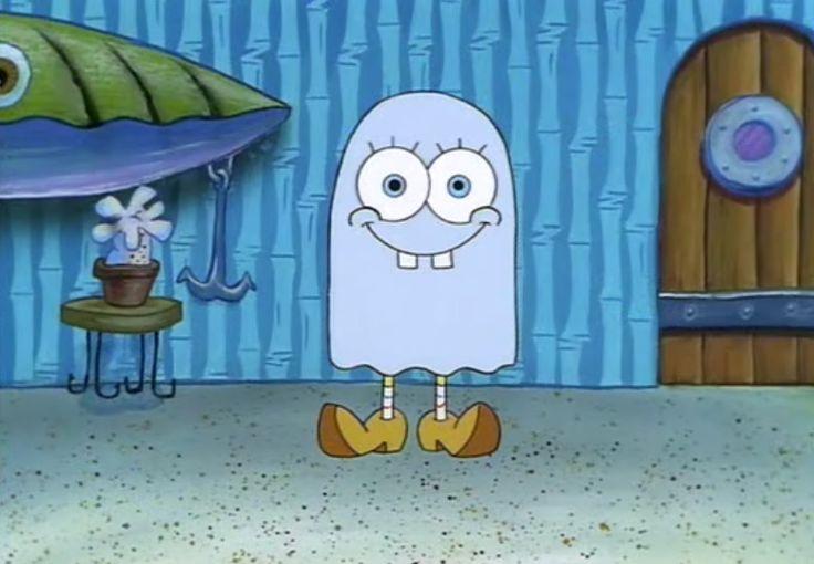 Bob esponja tambin se disfraza por Halloween  Humor e imgenes