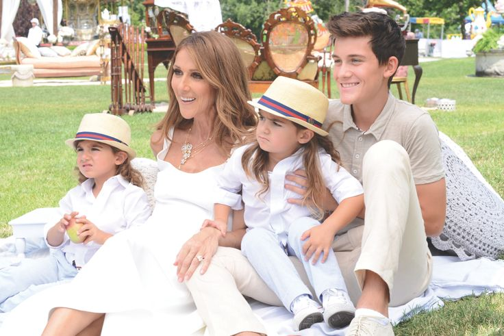 An intimate sit down with Céline Dion