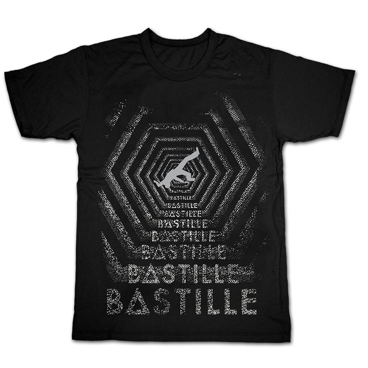 bastille official t shirt